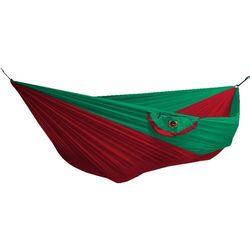 Hamak duży, zielono-czerwony THK-(1)