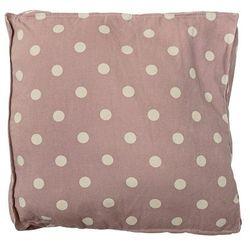 Poduszka różowa bawełniana