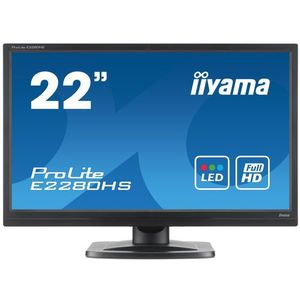 LED Iiyama E2280HS-B1
