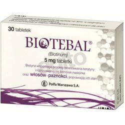 Biotebal tabl. 5 mg 30 tabl. (blistry) (artykuł z kategorii Witaminy i minerały)