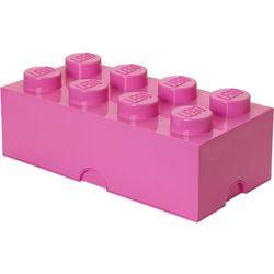 Room copenhagen Pojemnik lego 8 różowy - lego pojemniki