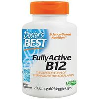 DOCTOR'S BEST Fully Active B12 1500mg - 60vcap