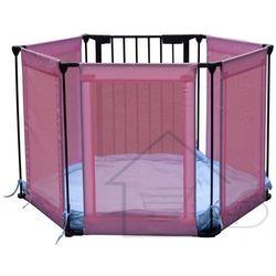 1 Kojec dla dzieci kolor różowy - łóżeczko dziecięce