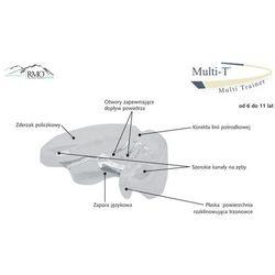 Aparat rmo multi-t - elastyczny aparat ortodontyczny - ortho aparat przeznaczony dla dzieci z uzębieniem mies