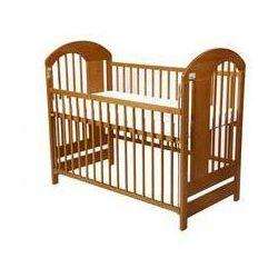 Drewniane łóżeczko dla dziecka vojta / kolor drewna - kasztan marki For baby