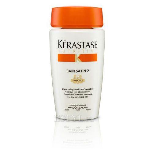 Kerastase Bain Satin 2 - Kąpiel odżywcza do włosów suchych, uwrażliwionych 250 ml - produkt dostępny w Estyl.pl