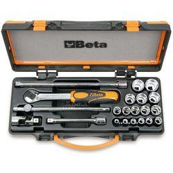 21-częściowy zestaw kluczy i nasadek 910a/c16, 009100936 marki Beta tools