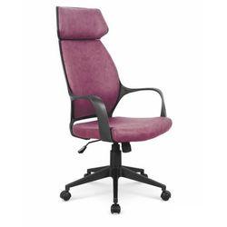 Fotel gabinetowy obrotowy HALMAR PHOTON - ciemny różowy