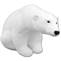 Figura ogrodowa betonowa miś polarny 33cm