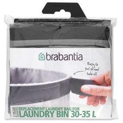 - wymienny worek do kosza na bieliznę 35l - 35,00 l marki Brabantia