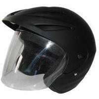 Kask motocyklowy MOTORQ Torq-o1 otwarty czarny mat (rozmiar M) z kategorii kaski motocyklowe