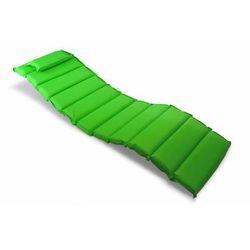 Poduszka 11 segmentów Garthen na leżak zielona