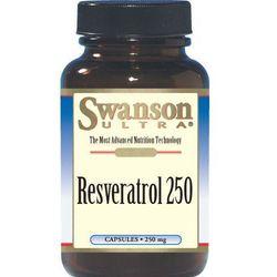 Swanson Resweratrol 250mg 30kaps