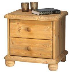 MAX szafka nocna 2S sosna olejowana - lite drewno, 2022020030000N