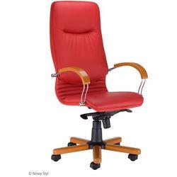 Fotel gabinetowy nova wood marki Nowy styl