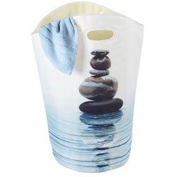 Wenko Kosz na pranie meditation, okrągły - pojemnik 47 l