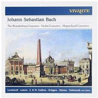 Bach: The Brandenburg Concertos / Violin Concertos Bwv 1041 - 1043 & 1064r / Harpsichord Concerto Bwv 1052
