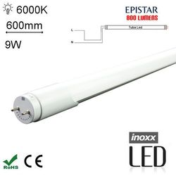 INOXX 60T8K6000 FS MI 1S Świetlówka LED zimna 600mm G13 jednostronnie zasilana o mocy 9W 800 lumenów 6000K (świetlówka) od Avde.pl