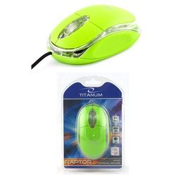 MYSZ TITANUM RAPTOR 3D OPT. PRZEWODOWA TM102G USB z kategorii Myszy, trackballe i wskaźniki