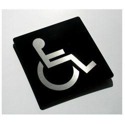 Piktogram, Symbol, Drzwi - Toaleta Niepełnosprawni, towar z kategorii: Akcesoria do drzwi