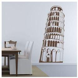 Szablon malarski krzywa wieża w pizie 0834 marki Wally - piękno dekoracji