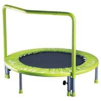 Mini trampolina dla dzieci z uchytem poręczą