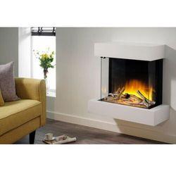 Flamerite fires - nowość 2021 Kominek do montażu ściennego flamerite fires iona 600. efekt płomienia nitra flame led - 20 kolorów ognia - promocja