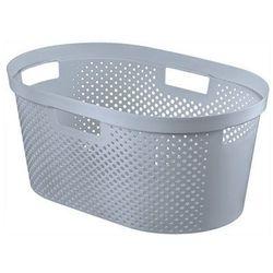CURVER KOSZ DO MAGLA INFINITY 39L - Szary - produkt z kategorii- Kosze na pranie