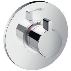 Ecostat Hansgrohe bateria termostatyczna podtynkowa ecostat s high flow element zewnętrzny chrom - 15756000 1