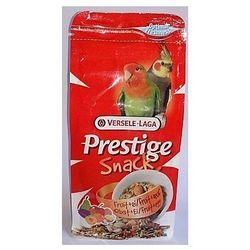 Versele-Laga Prestige Snack Parakeets 125g przysmak z biszkoptami i owocami dla średnich papug - produkt dostępny w Fionka.pl