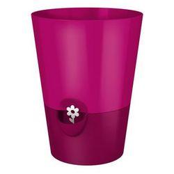 Doniczka na zioła różowa Fresh Herbs by Emsa (doniczka i podstawka) od ExitoDesign