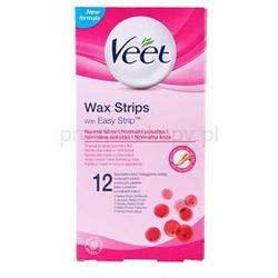 wax strips plastry do depilacji woskiem z masłem shea, o zapachu czerwonych jagód + do każdego zamówienia