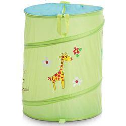 Torba na pranie, zabawki, motyw dziecięcy - kolor zielony, marki Zeller