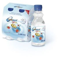 Płyn ORSALIT DRINK Plyn nawadniający dla dzieci od 3rż odwodnienie biegunka - smak truskawkowy 200ml