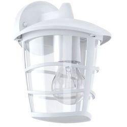 Eglo Kinkiet aloria 93095 ogrodowy lampa ścienna dół 1x60w e27 ip44 biały