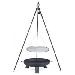 Grill ogrodowy FARMCOOK na trójnogu 70 cm + Palenisko 80 cm
