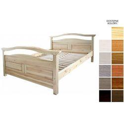 łóżko drewniane rotterdam 140 x 200 marki Frankhauer