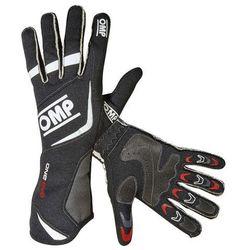 Rękawice OMP ONE EVO - Czarno / Biały, towar z kategorii: Rękawice motocyklowe