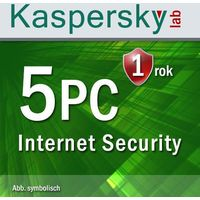 Kaspersky Lab Internet Security 2017 5 PC Win