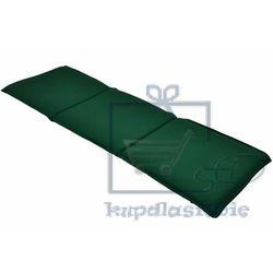 Divero Poduszka trzyosobowa na ławkę ogrodową - zielona