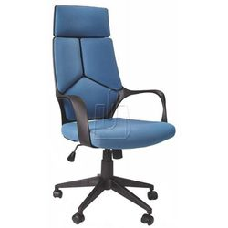 Fotel gabinetowy halmar VOYAGER niebieski