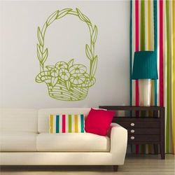 Wally - piękno dekoracji Szablon na ścianę kompozycja kwiatowa 2051