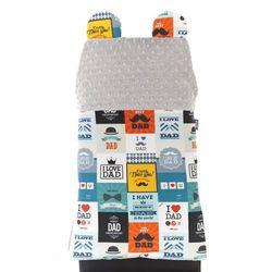 Cuddly Zoo, Kocham mojego Tatę , Cudly back, Platinum, oparcie na krzesło, towar z kategorii: Dekoracje i ozdoby dla dzieci