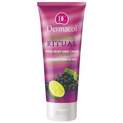 Dermacol  aroma ritual hand cream grape&lime 100ml w krem do rąk, kategoria: kremy do rąk