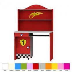 Biurko z nadstawką i kontenerkiem SUPER SPEED - sprawdź w wybranym sklepie