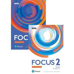 Focus 2 2ed. SB A2+/B1 + Digital Resources PEARSON (9788378826989)