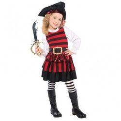 Kostium Piratka dla dziewczynki - 3/5 lat (104)