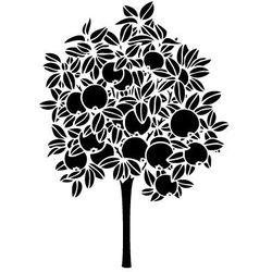 Szablon malarski, wielorazowy, wzór flora 243 - drzewo jabłoni