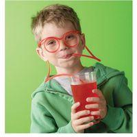Zakręcone okulary do picia - przeźroczyste