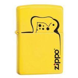Zippo Zapalniczka 28062 Zippo Logo Lemon Matte z kategorii Zapalniczki